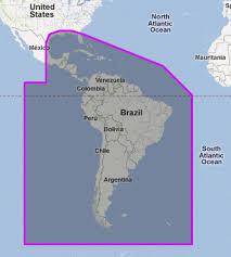 Gulf Coast Nautical Charts Mapmedia Jeppesen Vector Megawide South America And Usa Gulf Coast