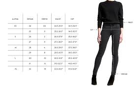 Vip Jeans Size Chart Size Charts