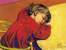 Śpiący staś or sleeping staś by stanisław wyspiański 1904 image maciej musiał