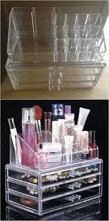 diy makeup storage cosmetic organizer diy makeup storage containers diy makeup