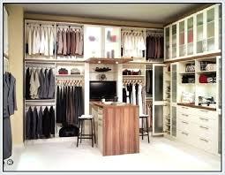 closet bar double closet rod height