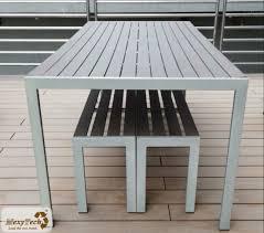 plastic wooden bench plastic garden bench
