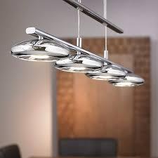 pendant lighting for bars. Eglo Tarugo LED 4 Light Bar Ceiling Pendant - Polished Chrome Lighting For Bars U
