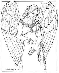 Small Picture Fresh Angel Coloring Page 38 With Additional Coloring Pages for