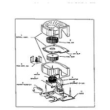 bionaire aircleaner parts model f250 sears partsdirect motor illustr