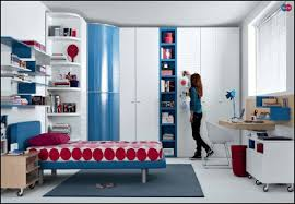 Blue Teen Bedroom Design Teenage