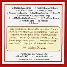 Cd Song List Miss Lillies Products Cds Cassettes Gaither Videos