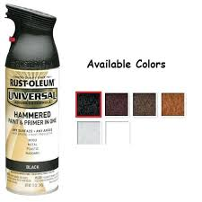 Rustoleum Hammered Paint Colors Rust Universal Hammered