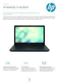 HP Notebook 15-db1062nt