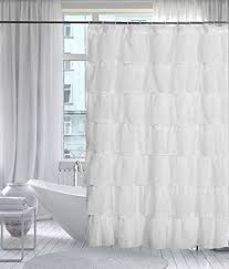 white ruffle shower curtain. Glamorous White Ruffle Shower Curtain 3 51UdzkPEYqL SY450 O