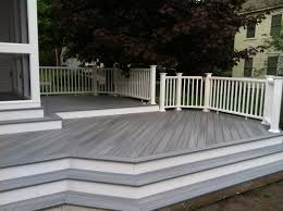 Grey Composite Decking Designs Wood Deck Composite Decks Are Make From Recycled Materials