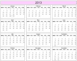 Calendar 2013 Template Year Calendar For Word Template Yearly 2014 Indemo Co