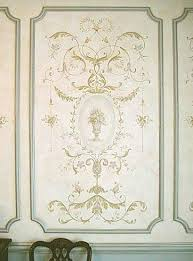 french panel series decorative stencils the grand stencil large sheet size design measures small wall decor