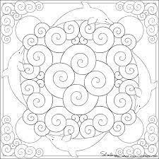 Risultato Immagini Per Mandala Delfino Da Colorare Craft Mandala