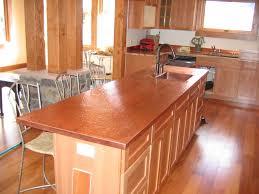 Copper Top Kitchen Table Custom Copper Kitchen Counters