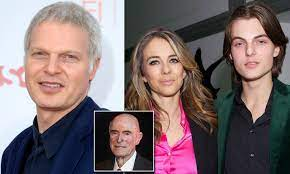 Steve Bing and Elizabeth Hurley rip into his father for attempting to cut  son Damian out of trust