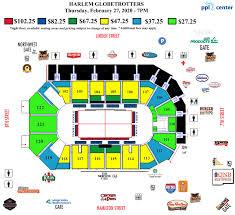 Ppl Arena Allentown Seating Chart Harlem Globetrotters Ppl Center