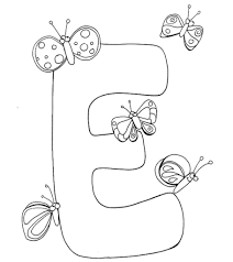 Alphabet coloring pages coloring sheets printable alphabet letters coloring pages for kids disney characters fictional. Top 10 Free Printable Letter E Coloring Pages Online
