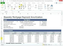 Amortization Schedule For Mortgage With Extra Payments
