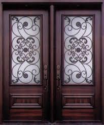 Elegant Wrought Iron Exterior Doors Canada  About Remodel With - Iron exterior door