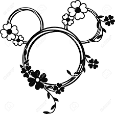 Mickey Mouse / Minnie Mouse Head Design. Royalty Free Cliparts, Vectors,  And Stock Illustration. Image 151267056.