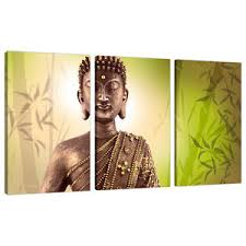 image is loading 3 part buddha canvas pictures lime green wall  on lime green wall art prints with 3 part buddha canvas pictures lime green wall art bedroom prints