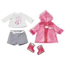 <b>Одежда для куклы</b> Baby Annabell для дождливой погоды <b>Zapf</b> 700 ...