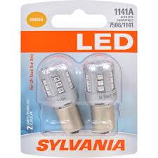 Sylvania Reverse Lights 2 Pk Sylvania 1141 Amber Led Automotive Bulb Sylvania Led