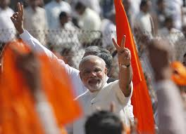 Image result for modi rss flag