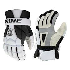 Maverik M4 Gloves Size Chart Brine King Superlight 3 Lacrosse Gloves Black White