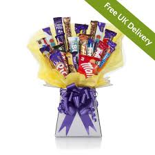 large chocolate bouquet her