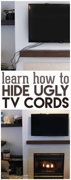How To Hide Tv Best 25 Hide Tv Ideas Only On Pinterest Tv Above Fireplace Tv