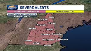 NH severe weather forecast: Risk exists ...