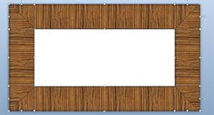 simple wood picture frames. Wooded Frame Simple Wood Picture Frames D