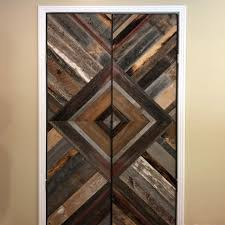 reclaimed barn wood feature walls and
