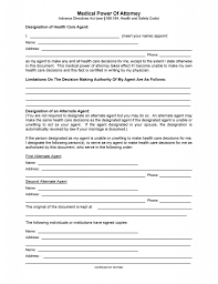 Free Texas Medical Power Of Attorney Form | Pdf Template | Form Download