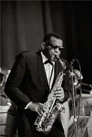 ray charles ray charles ray charles robinson  ray charles playing alto c 1963 photo by joe alper