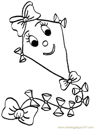 Small Picture printable coloring page kites cartoons Coloring Pages