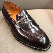 Alden Shoe Size Chart Aldenmadison Alden Shoes Nyc Restock High Vamp Loafer In