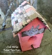 Diy Birdhouse Mixed Media Birdhouse Beacon Adhesives The Creative Adhesives