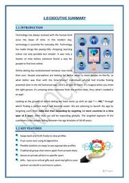 Business Plan App Dating App Business Plan By Infocrest Issuu