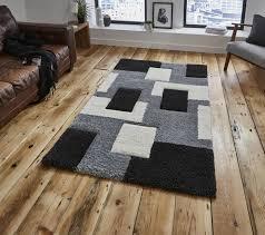 fashion carving 7646 grey rug
