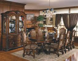 formal dining room table sets. Classic Dining Room Formal Sets Fireplace Wooden Cabinet Table U