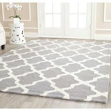 safavieh cambridge silver ivory 8 ft x square area rug