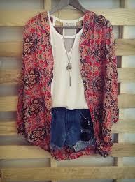 Resultado de imagen de hippie chic outfit
