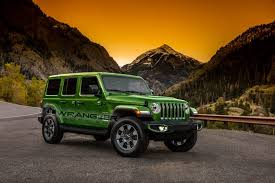 New 2018 Jeep Wrangler Color Options