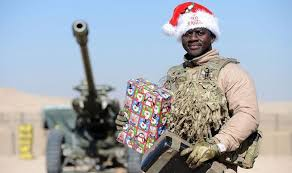 Troops toast last Christmas in Afghanistan | UK | News | Express.co.uk