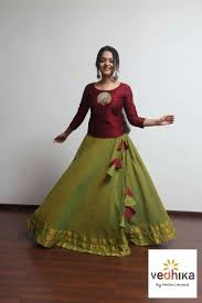 Skirt Top Stitching Designs Indian Dresses Indian Gowns Dresses Lehnga Dress Indian
