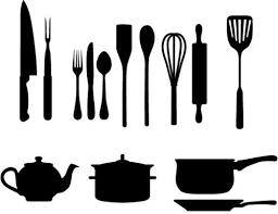 kitchen utensils silhouette vector free. Wonderful Vector 500x386 Kitchen Utensils Silhouette Vector More Kitchen Silhouette Ideas In Free