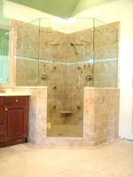 showers half glass shower wall door cleaner with how to clean walls and doors frameless panels